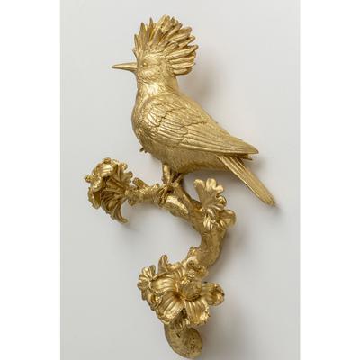 Decoración pared Parrot oro 40 cm