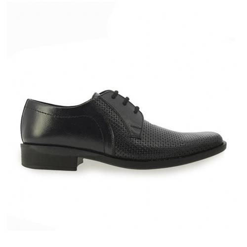 Zapato Formal En Cuero Negro