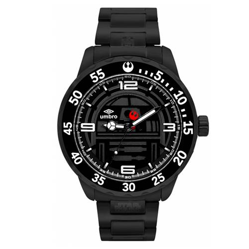 Reloj Análogo Negro-Negro Umb-Sw03-2