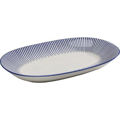 Plato Blu Ora oval