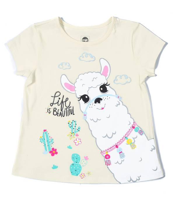 Camiseta Niña mic
