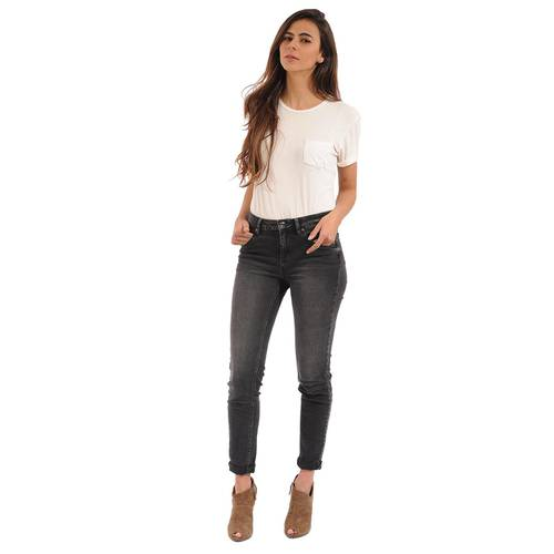 Camiseta Básica Color Siete Para Mujer - Blanco