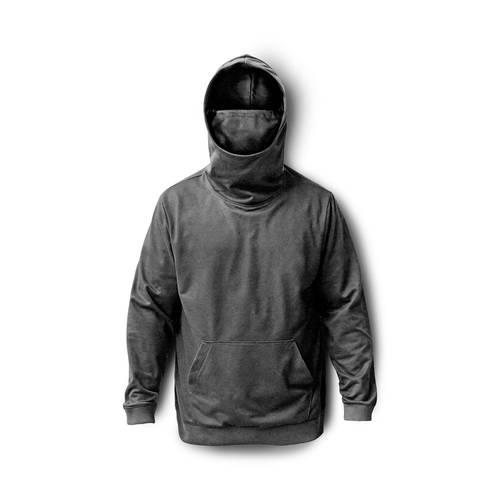 Hoodie Proteccion Con Pasamontañas para Hombre - Gris