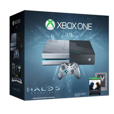Xbox One 1TB Edicion Especial Halo 5 Guardians