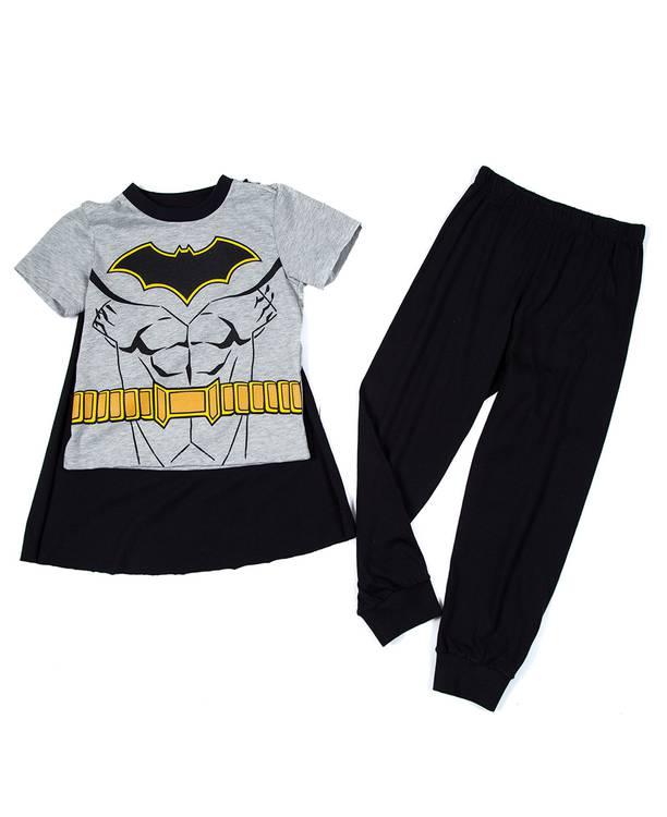 Pijama Con Capa Niño Batman