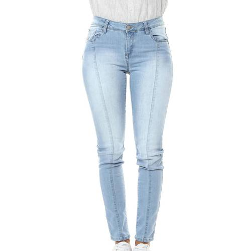 Denim Jean Para Mujer Color Siete - Azul