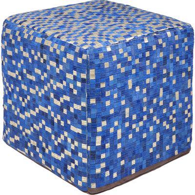 Taburete Pixel azul 40x40cm