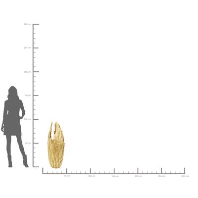 Vasija Feathers oro 91cm