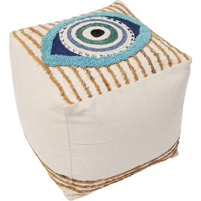Taburete Ethno Eye 50x50cm