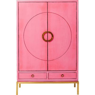 Armario Disk rosa