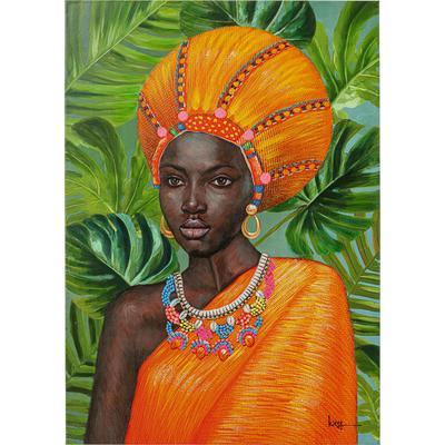 Cuadro lienzo African Beauty 70x100cm