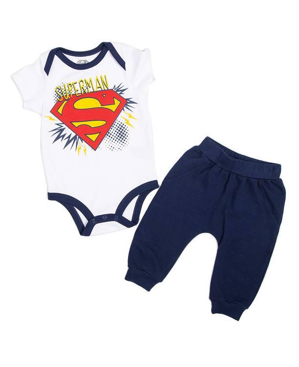 Conjunto Bebito Superman