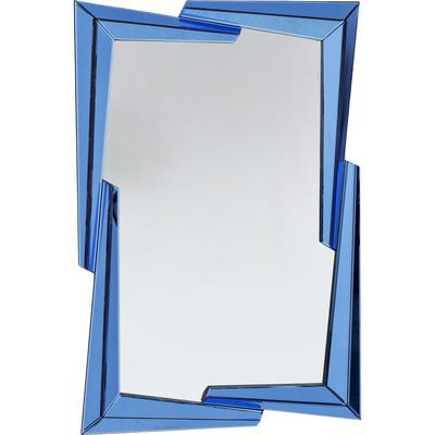 Espejo Boomerang azul 122x82cm