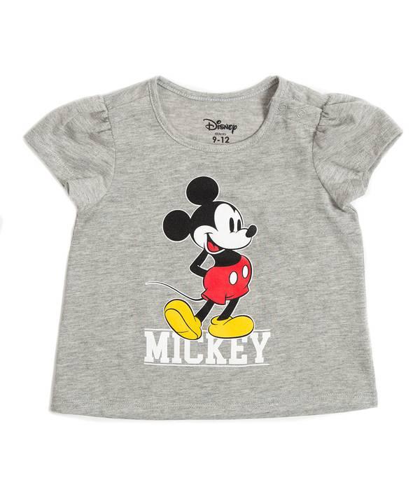 Camiseta Bebita Mickey 90 Años