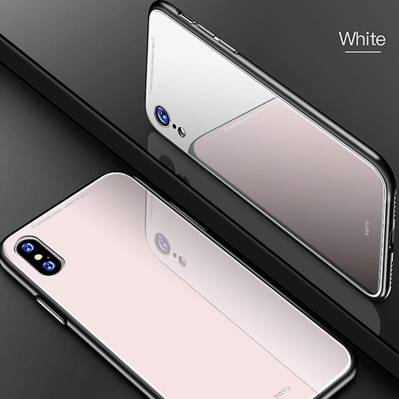 Estuche Totu Style IPhone IPhone X Y IPhone Xs Blanco 7-W
