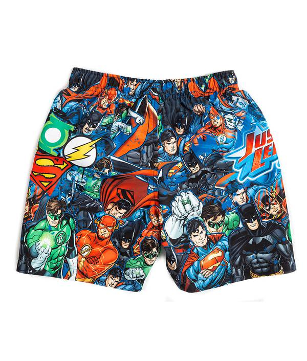 Pantaloneta Baño Niño Justice League