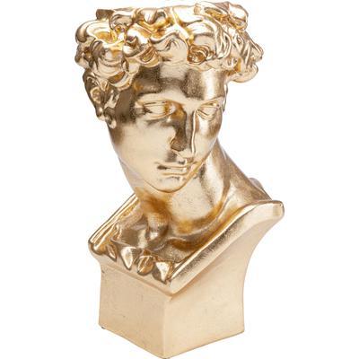 Macetero decorativo David oro