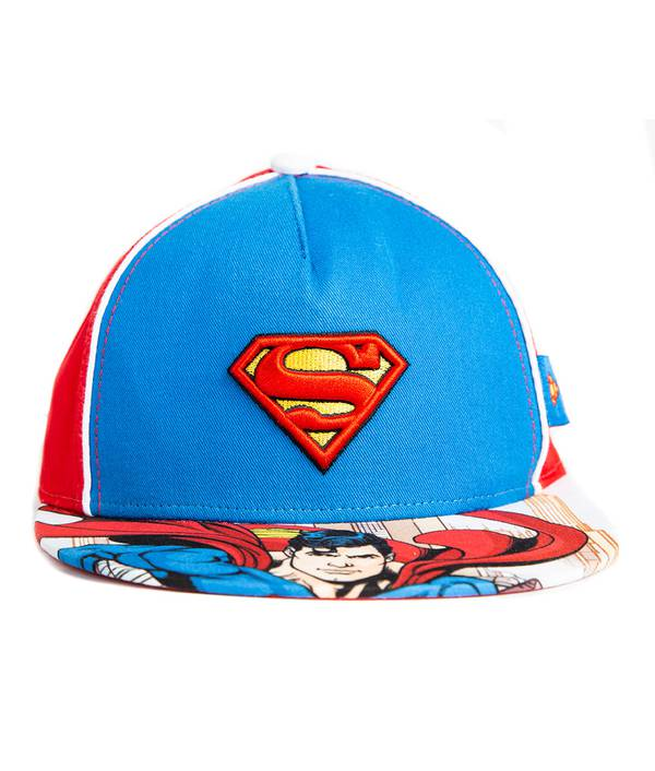 Gorra Niño Vicera Plana Batman / Superman
