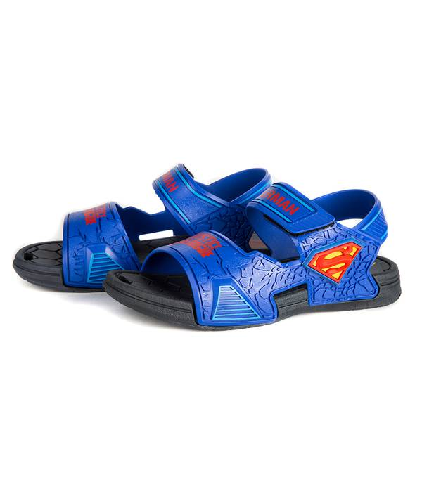 Sandalia Niño Superman Azul