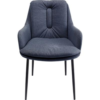 Chair with Armrest Thea Dark Grey