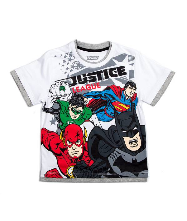 Camiseta niño Justice League