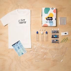 Kit Polito Creativo Tie dye