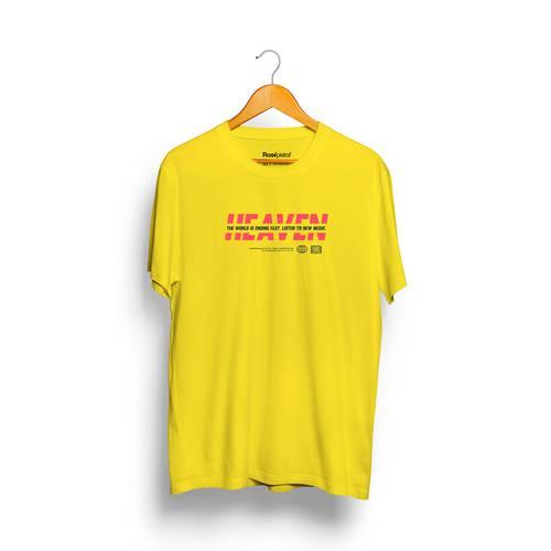 Camiseta Heaven Rosé Pistol Unisex - Amarillo