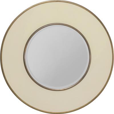 Espejo Lens blanco Ø60