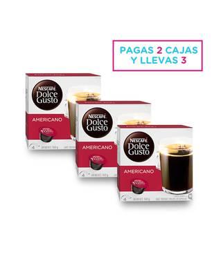 Set X 3 Café Americano Caja X 16 Cápsulas 0795 - Dolce Gusto
