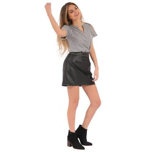 Camiseta Alexa Rosé Pistol Para Mujer - Blanco