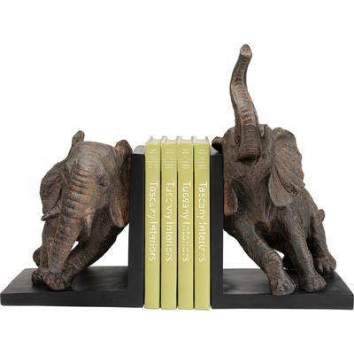 Sujetalibros Elephants 25cm (2/Set)