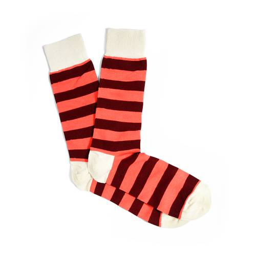 BLOCK STRIPED SOCKS