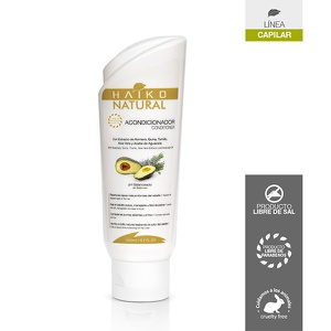 Acondicionador Reparador y Antifrizz Haiko Natural 200ml