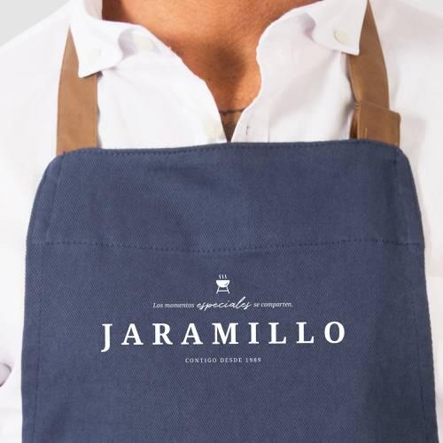 Delantal Color Siete Jaramillo - Azul