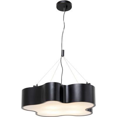 Lámpara Cloud negro Ø60cm