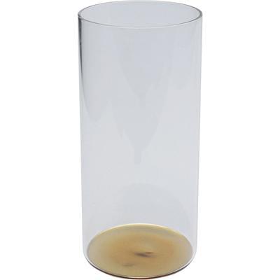 Vaso agua Electra oro