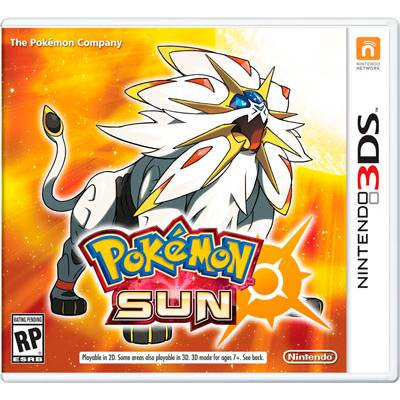 Pokemon Sun - 3DS