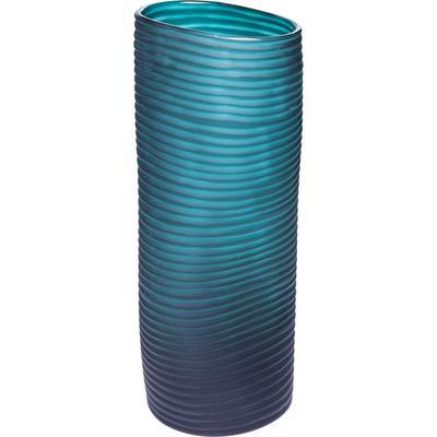 Vasija Swirl Turquoise 36cm