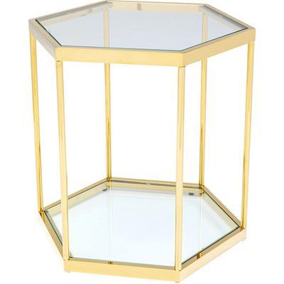 Mesa auxiliar Comb oro 55cm