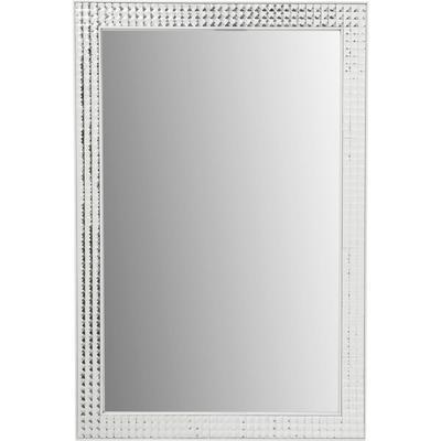 Espejo Crystals Steel White 80x60cm