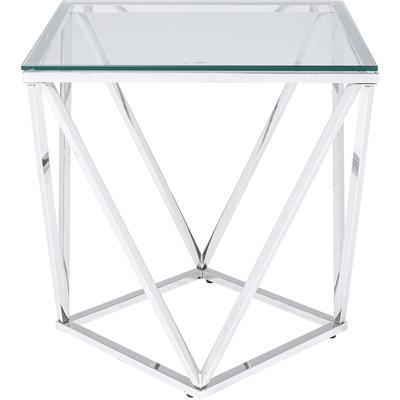 Mesa auxiliar Cristallo 50x50cm