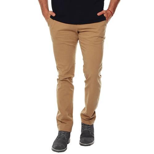 Pantalón Chelsea Color Siete Para Hombre  - Khaki