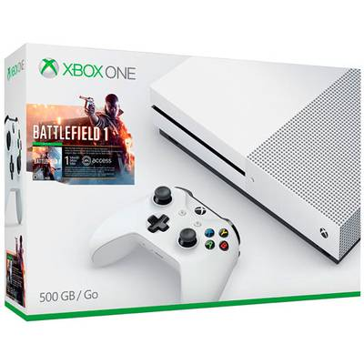 Xbox One S 500GB + Battlefield 1
