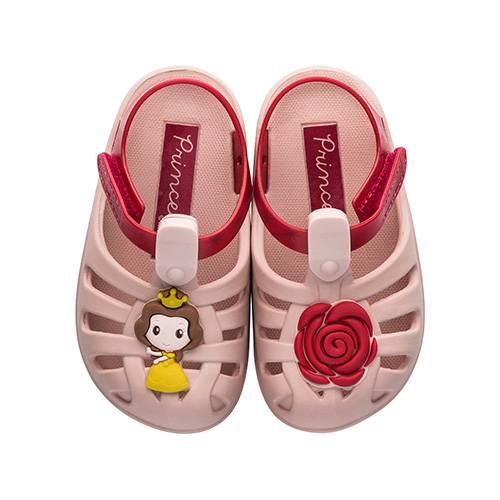 Sandalias Disney Soft Baby Rosa - Rojo