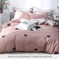 Duvet Microtex Full Digital Corazones