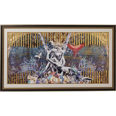 Cuadro enmarcado Lovers 266x150cm