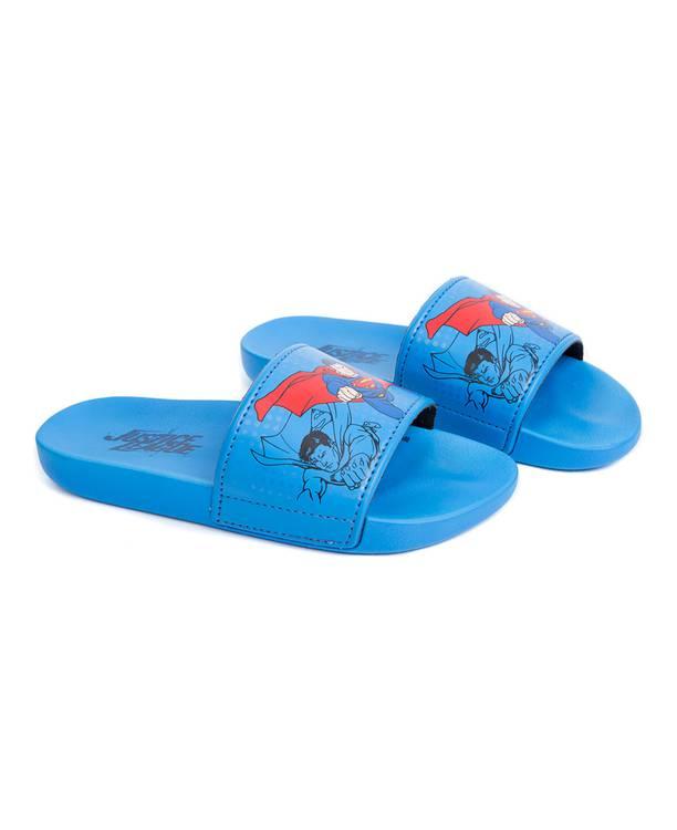 Sandalia Azul Niño Liga De La Justicia