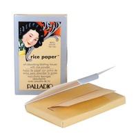 Hojas de Papel Con Polvo de Arroz Color Translucent 40 hojas Palladio