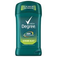 Desodorante Degree Men Inivisible En Barra Extreme Blast 2.7 Oz