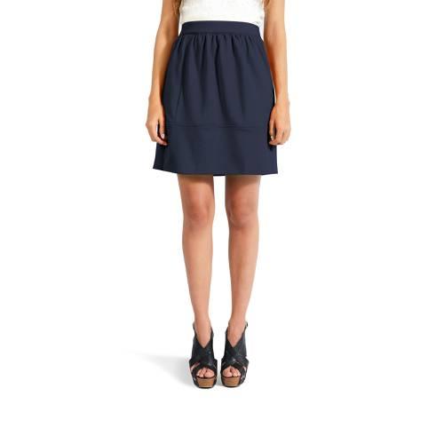 Falda Color Siete para Mujer - Azul